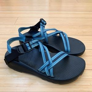 CHACO ZX/1 blue strap sandals, women's 8.
